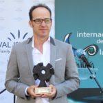 Pablo Cervantes premiado en el Festival Internacional de Cine de Islantilla