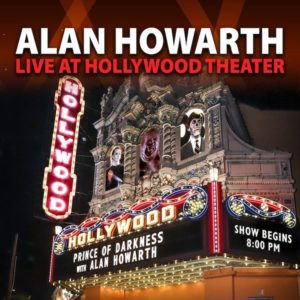Carátula BSO Alan Howarth Live at Hollywood Theater