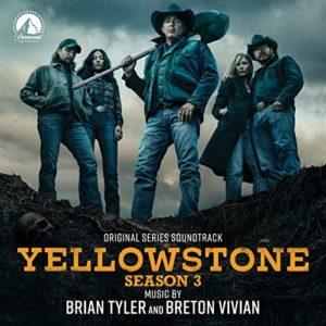 Carátula BSO Yellowstone Season: 3 - Brian Tyler