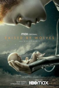 Póster Raised by Wolves