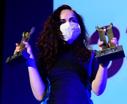 Zeltia Montes gana el Roel de Oro en el Medina Film Festival
