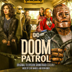 Carátula BSO Doom Patrol: Season 1 - Clint Mansell y Kevin Kiner