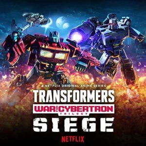 Carátula BSO Transformers: War for Cybertron Trilogy – Siege - Alexander Bornstein