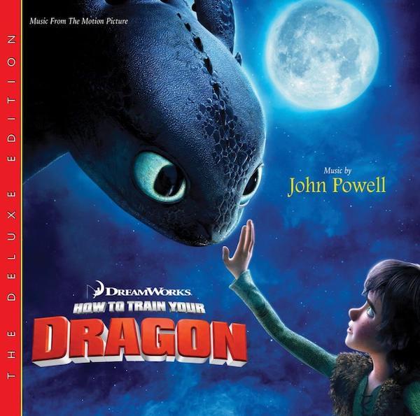 How to Train Your Dragon de John Powell, Deluxe Edition en Varèse Club