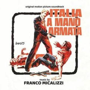 Carátula BSO Italia a Mano Armata - Franco Micalizzi