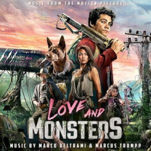Carátula BSO Love and Monsters - Marco Beltrami y Marcus Trumpp