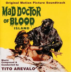 Carátula BSO Mad Doctor of Blood Island - Tito Arévalo