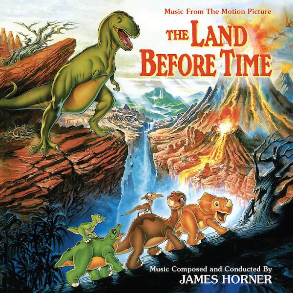 Intrada edita la banda sonora The Land Before Time