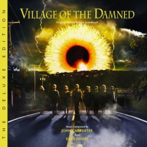 Carátula BSO Village of the Damned - John Carpenter y Dave Davies