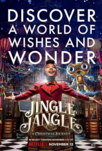 Póster Jingle Jangle: A Christmas Journey