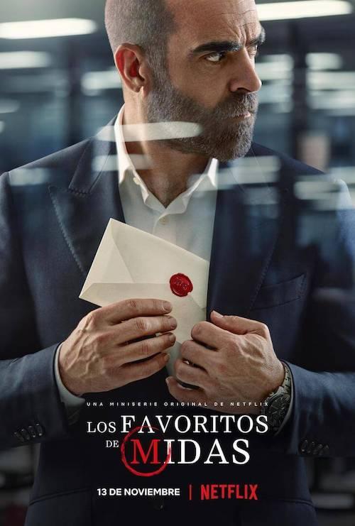 Lucas Vidal para la miniserie Los favoritos de Midas