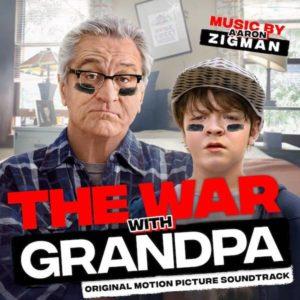 Carátula BSO The War with Grandpa - Aaron Zigman