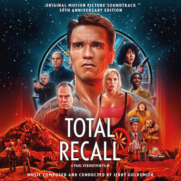 Quartet Reedita el Total Recall expandido de Jerry Goldsmith