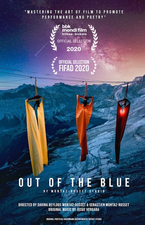 Josué Vergara para el documental Out of the Blue