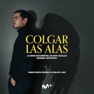 Carátula BSO Colgar las alas - Carlos M. Jara