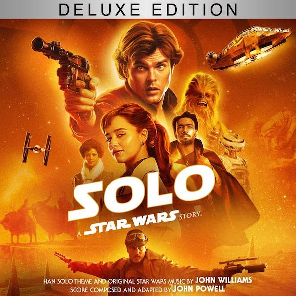 Walt Disney Records edita Solo: a Star Wars Story – Deluxe Edition