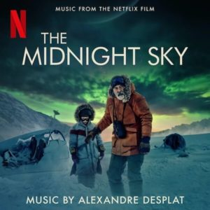 Carátula BSO The Midnight Sky - Alexandre Desplat