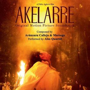 Carátula BSO Akelarre - Maite Arrotajauregi y Aranzazu Calleja