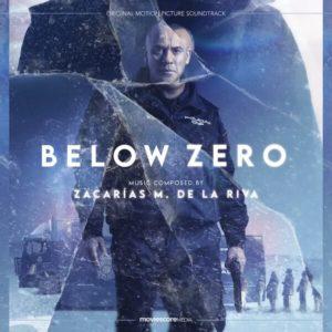 Carátula BSO Below Zero Zacarias M. de la Riva