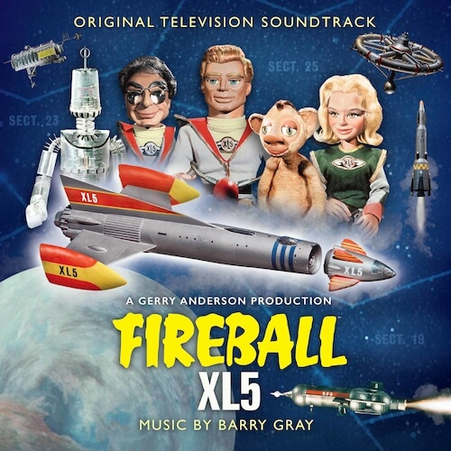 Silva Screen edita Fireball XL5 de Barry Gray