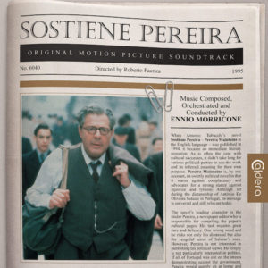 Carátula BSO Sostiene Pereira - Ennio Morricone