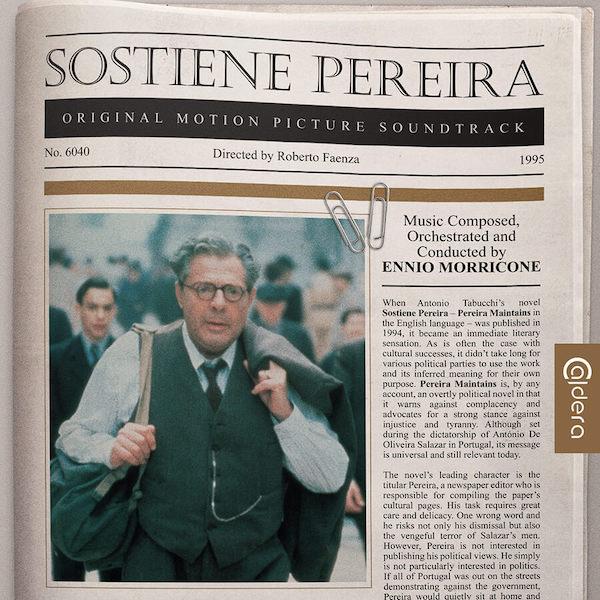 Caldera Records reedita Sostiene Pereira de Ennio Morricone