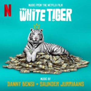 Carátula BSO The White Tiger - Danny Bensiy Saunder Jurriaans