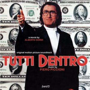 Carátula BSO Tutti Dentro - Piero Piccioni