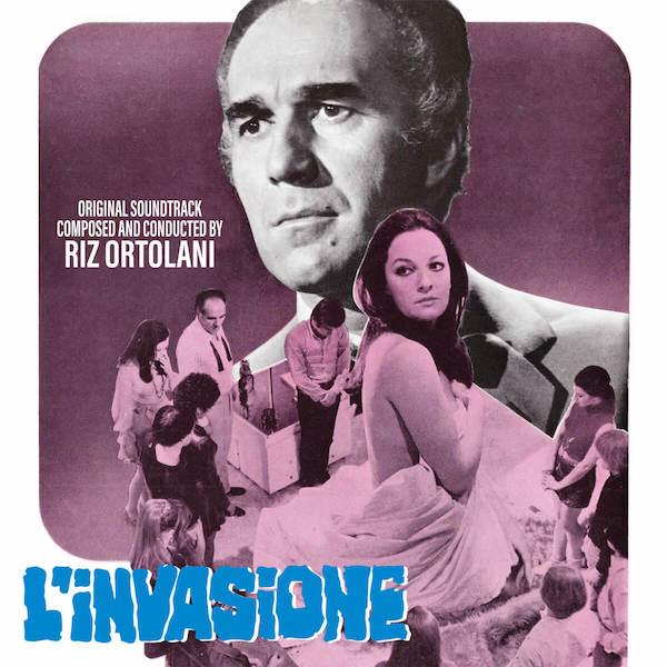 Quartet Records edita L'Invasione de Riz Ortolani
