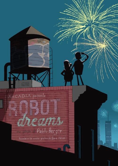 Alfonso Vilallonga para la cinta de animación Robot Dreams