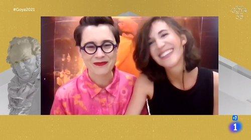 Aránzazu Calleja y Maite Arroitajauregi gana el Goya por Akelarre