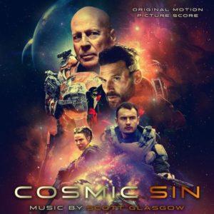 Carátula BSO Cosmic Sin - Scott Glasgow