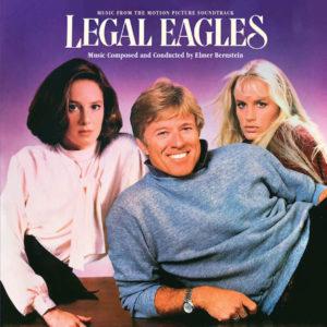 Carátula BSO Legal Eagles - Elmer Bernstein