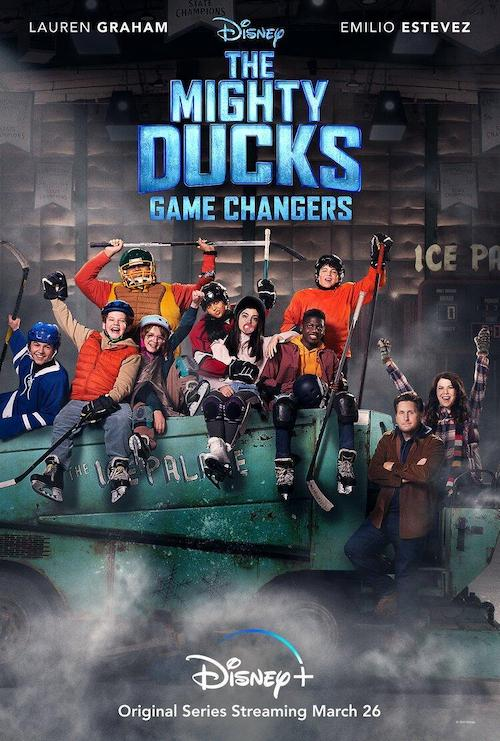 John Debney para la serie The Mighty Ducks: Game Changers