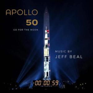 Carátula BSO Apollo 50: Go for the Moon - Jeff Beal