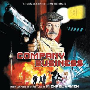 Carátula BSO Company Business - Michael Kamen
