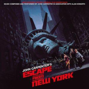 Carátula BSO Escape From New York - John Carpenter