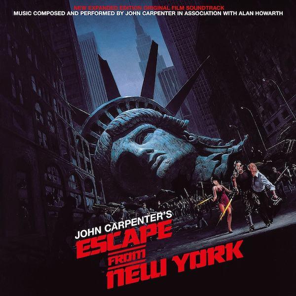 Silva Screen reedita el expandido de Escape From New York de John Carpenter