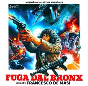 Carátula BSO Fuga dal Bronx - Francesco De Masi