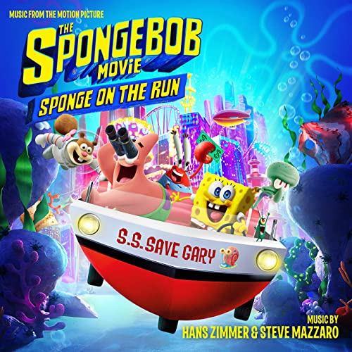 Paramount Music edita The SpongeBob Movie: Sponge on the Run