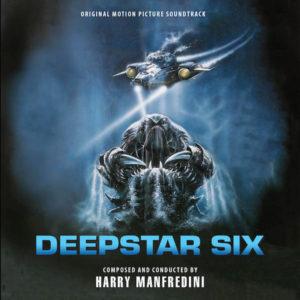 Carátula BSO DeepStar Six - Harry Manfredini