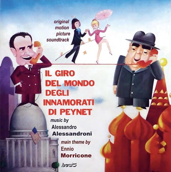 Beat Records edita Il Giro del Mondo Degli Innamorati di Peynet de Alessandro Alessandroni y Ennio Morricone