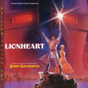 Carátula BSO Lionheart - Jerry Goldsmith