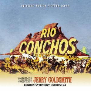 Carátula BSO Rio Conchos - Jerry Goldsmith