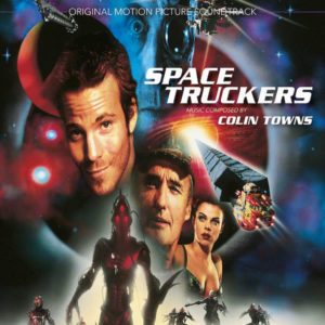 Carátula BSO Space Truckers - Colin Towns