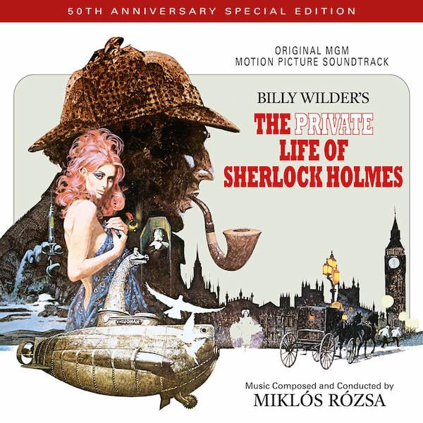 Quartet Records reedita The Private Life of Sherlock Holmes de Miklos Rozsa