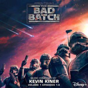 Carátula BSO Star Wars: The Bad Batch - Volume 1 - Kevin Kiner