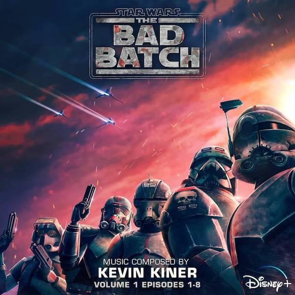 Walt Disney Records edita Star Wars: The Bad Batch – Volume 1
