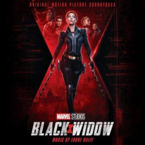 Carátula BSO Black Widow - Lorne Balfe