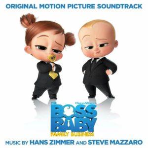 Carátula BSO The Boss Baby: Family Business - Hans ZimmerySteve Mazzaro